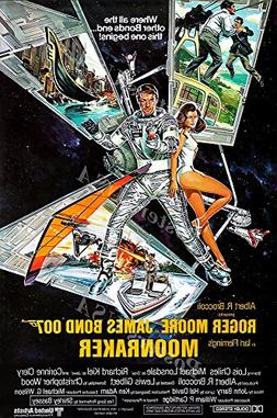 Posters USA - 007 Moonraker James Bond Movie Poster GLOSSY F