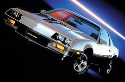 1983 CHEVROLET CAMARO Z28 POSTER | 24 x 36 INCH | muscle car