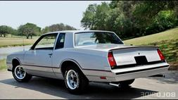 1985 CHEVY MONTE CARLO SS  POSTER 24 X 36 INCH