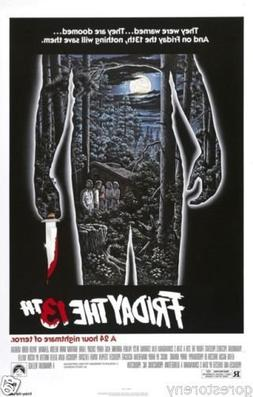 Buyartforless Friday The 13th Movie Poster  24x36