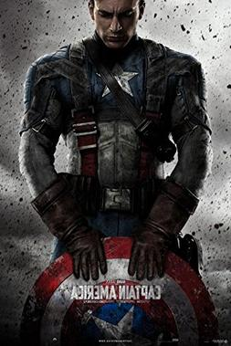 Captain America Poster 24 x 36in