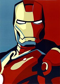 Iron Man 2 Movie  Art Poster Print - 24x36