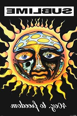 Pyramid America Sublime 40 Oz to Freedom Music Poster 24x36