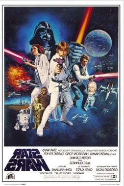 Star Wars: A New Hope Movie Poster, 24-inch x 36-inch