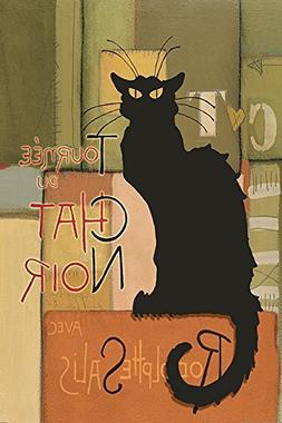 Buyartforless Abstract Chat Noir  GICLEE Edition 24x36 Art P