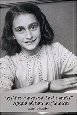 ANNE FRANK photo quote poster INSPIRATIONAL MOTIVATIONAL HIS