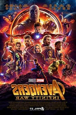 The Avengers: Infinity War Movie POSTER  Sci-fi/Action 24x36