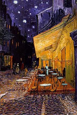 The Café Terrace on the Place du Forum, Arles, at Night, c.