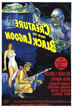 """Creature from the Black Lagoon  Movie Poster 24""""x36"""""""