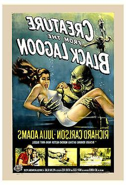 Creature From The Black Lagoon USA Movie Poster 1954 Large F