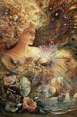 CRYSTAL OF ENCHANTMENT - JOSEPHINE WALL ART POSTER - 24x36 F