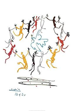 The Dance Of Youth Poster by Pablo Picasso 24 x 36in
