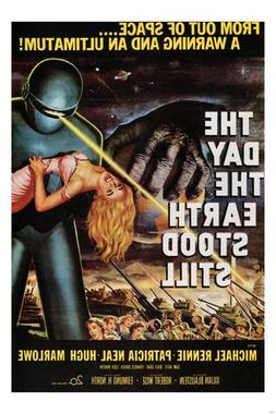 THE DAY THE EARTH STOOD STILL by Robert Wise 1951 MOVIE POST