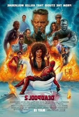 Deadpool 2 Movie Poster - 24 X 36