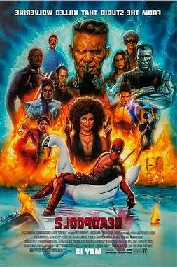 DEADPOOL 2 MOVIE POSTER, USA Version,