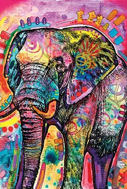 Dean Russo - Elephant Poster Print by Dean Russo, 24x36