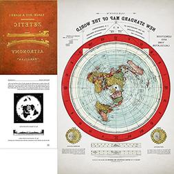 Flat Earth Map - Gleason's 1894 New Standard Map Of The Worl