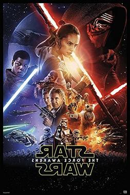 The Force Awakens Theatrical One Sheet Art 24x36 Poster