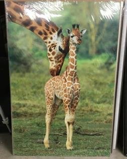 """Giraffe And Baby Poster Print 24"""" x 36"""" NEW by EuroGraph"""