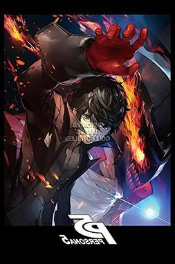 CGC Huge Poster GLOSSY FINISH - Persona 5 PS4 PS3 - EXT764 )