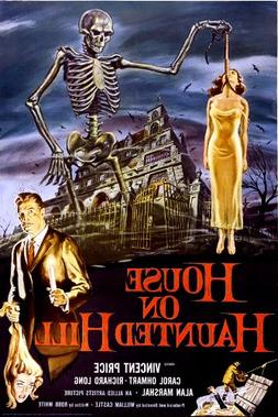 24x36 House on Haunted Hill- Vincent Price Poster by Innerwa
