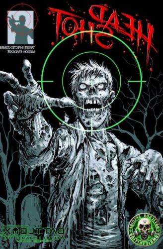 zombie targets 24 x 36 zombie poster