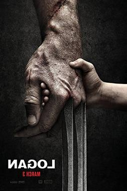 """Logan  Style A - Movie Poster - Size 24""""x36"""""""