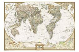 National Geographic World Map Executive Style 24x36