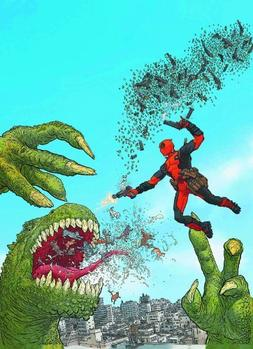 Marvel Now Deadpool Poster By Geoff Darrow 24 X 36 Rolled