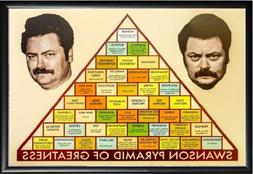 PARKS AND REC, RON SWANSON PYRAMID OF GREATNESS,