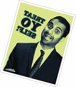 Parks and Recreation Tom Haverford Treat Yo Self Workplace C