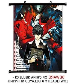 Persona 5 Game Fabric Wall Scroll Poster  Inches