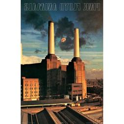 Buyartforless Pink Floyd Animals 36x24 Music Art Print Poste