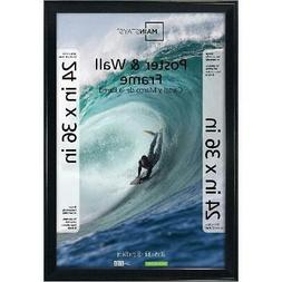 Poster and Picture Frame, 24x36 Black,