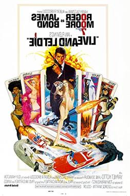 Posters USA - 007 Live and Let Die James Bond Movie Poster G