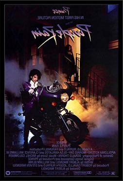 Prince - Purple Rain Framed Movie Poster 24x36. Made in USA.