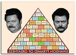 """Pyramid of Greatness Poster 13x19"""" 