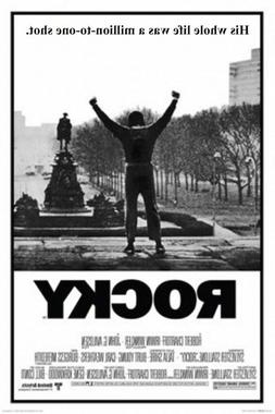 ROCKY - MOVIE POSTER - 24 x 36 STALLONE BOXING