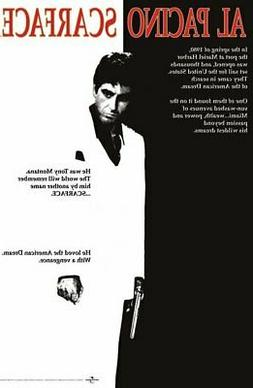 SCARFACE - MOVIE POSTER / PRINT
