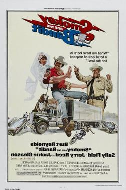 """Smokey and the Bandit  Movie Poster 24""""x36"""""""