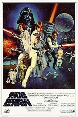 Buyartforless Star Wars - Episode IV New Hope - Classic Movi