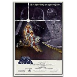 STAR WARS A NEW HOPE Movie Silk Poster 13x20 24x36 inch