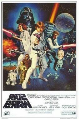 STAR WARS - CLASSIC MOVIE POSTERS - BRAND NEW  - 24x36 INCHE