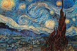 The Starry Night 1889 By Vincent Van Gogh Art Print Poster 3