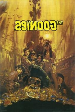 The Goonies Movie Poster 24 x 36 1985 Release Goonie Brother
