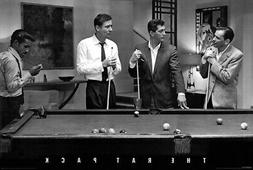 """""""The Rat Pack"""" Pool Table - Hollywood Movie Star - 24"""" x 36"""""""