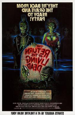 THE RETURN OF THE LIVING DEAD  ORIGINAL MOVIE POSTER  -  ROL