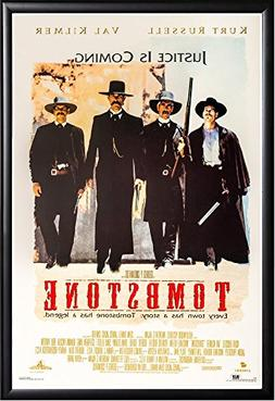 Tombstone Movie Poster US Version Framed  Size 24x36